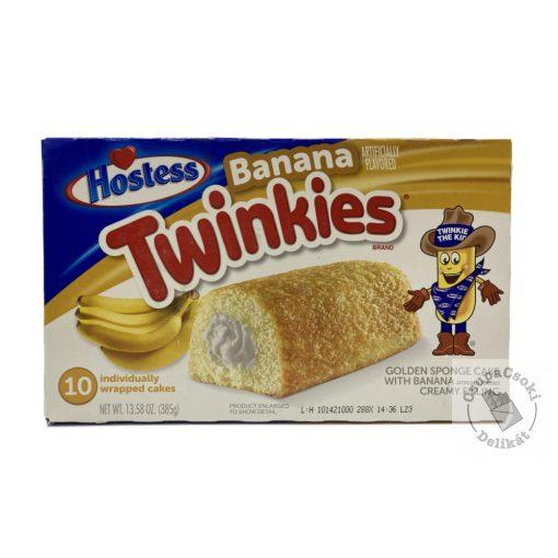 Twinkies Banana Töltött piskóta 385g
