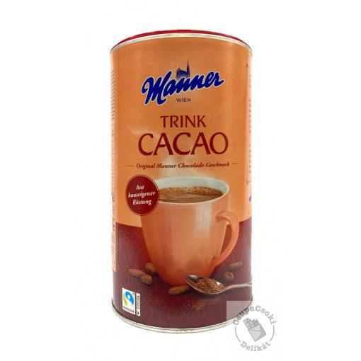 Manner Kakaó, forrócsokoládé italpor 450g