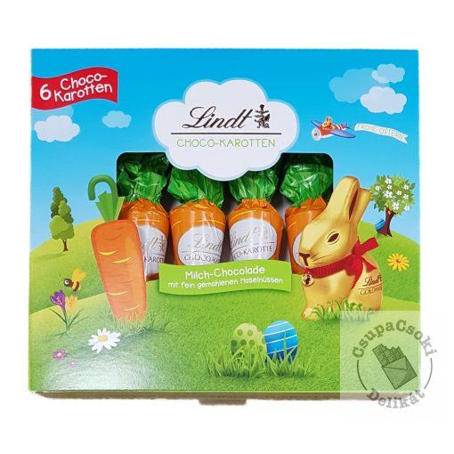 Lindt Choco Carrots Húsvéti csoki répa 6db 81g
