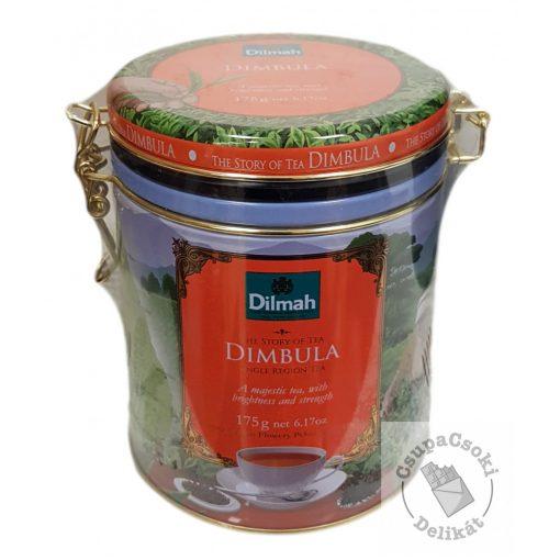 Dilmah Story of Tea Dimbula Fekete tea fémdobozban 175g