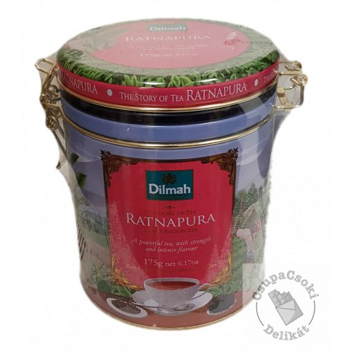 Dilmah Story of Tea Ratnapura Fekete tea fémdobozban 175g