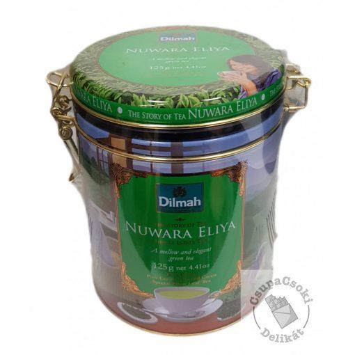 Dilmah Story of Tea Nuwara Eliya Zöld tea fémdobozban 125g