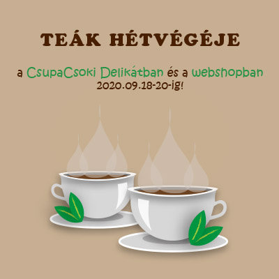 Teák hétvégéje 2020.09.18.-20.