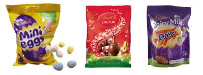 Húsvéti díszítő édességek