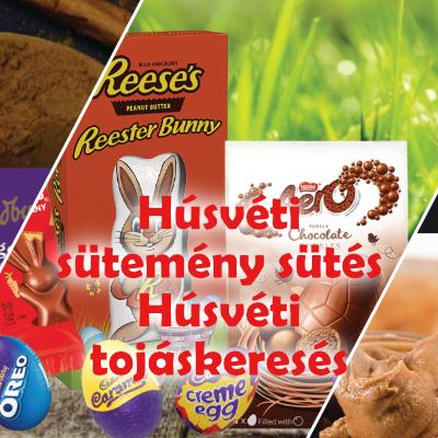 Húsvéti sütemények, húsvéti tojáskeresés - Készen állsz?