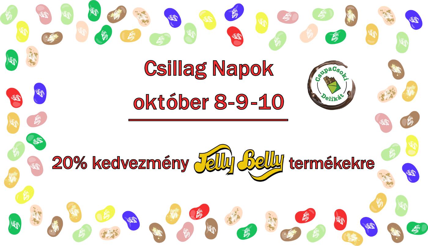 JellyBelly 20% kedvezménnyel