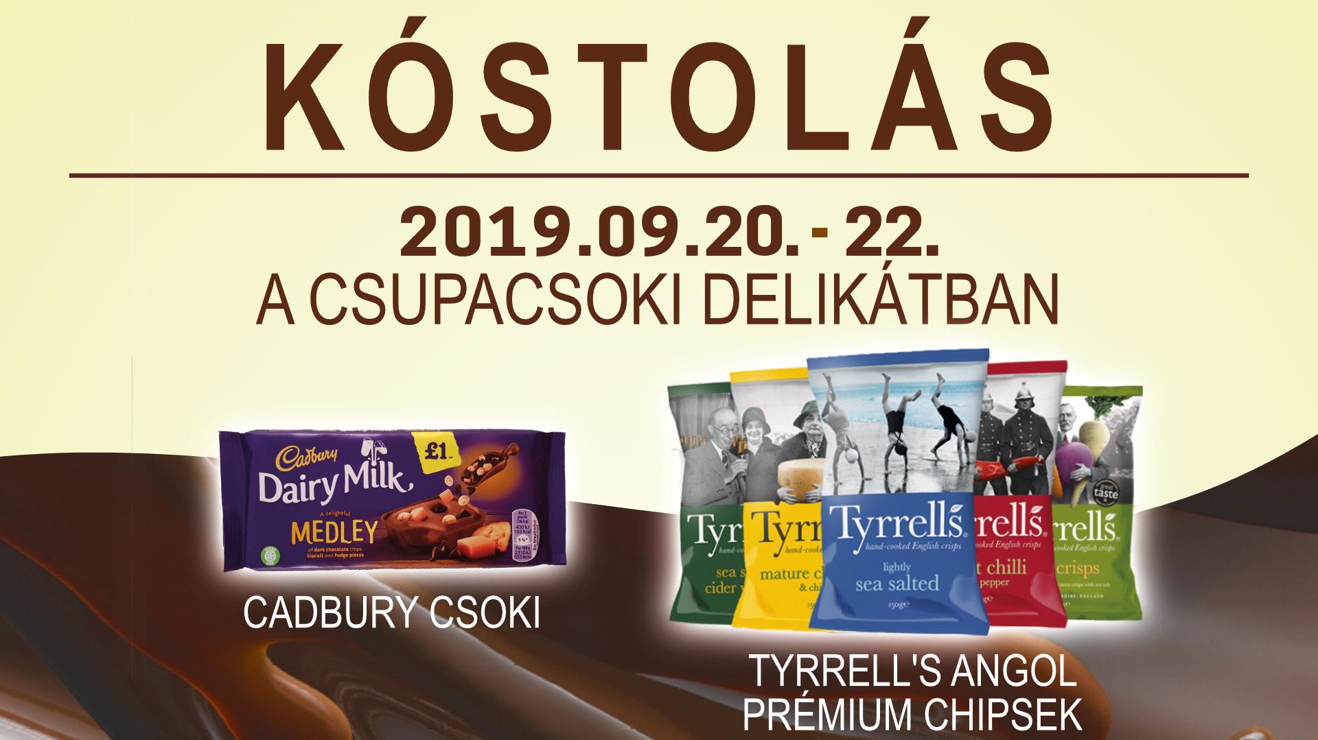 Ingyenes kóstolás a CsupaCsoki Delikátban 2019.09.20-22